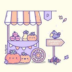 Pumpkin Stand 💕