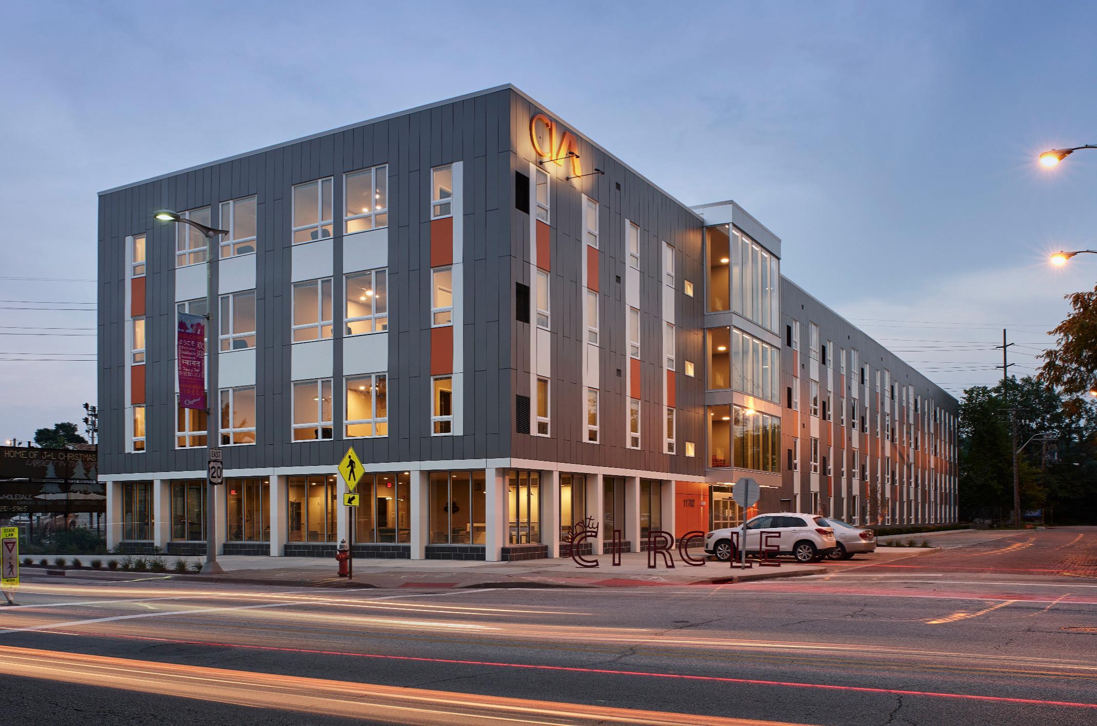 Clevaland Insttute of Art Housing