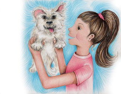 The Ugly Dog Book kisses