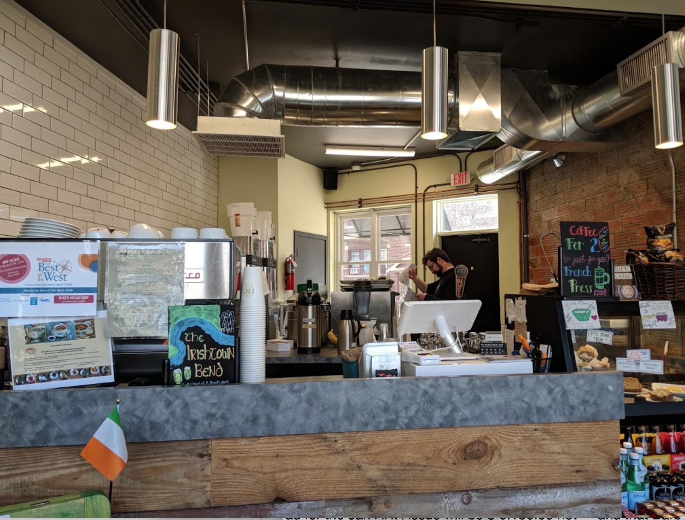 5 Points Coffee & Tea interior