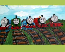 Thomas the Train Canvas