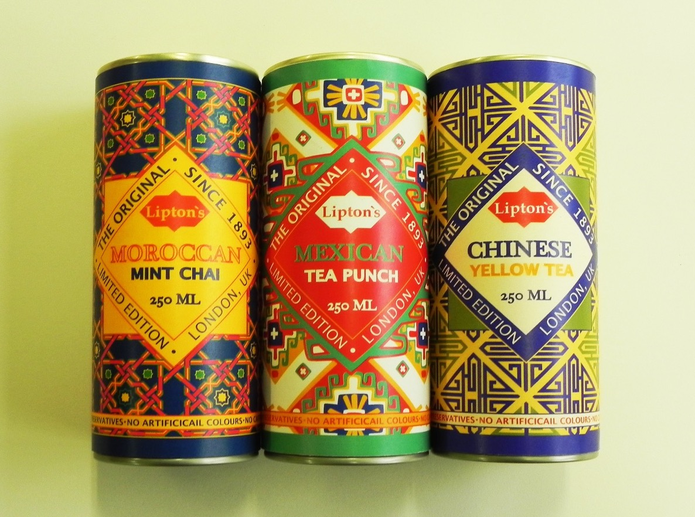 Lipton Tea design