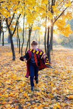 Wizard, Magic wand, cute boy in round gl