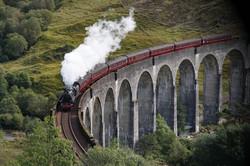 The Glenfinnan Viaduct is a railway viad