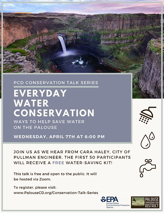Everyday Water Conservation Workshop FB