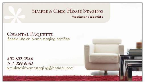 Simple & Chic Home Staging