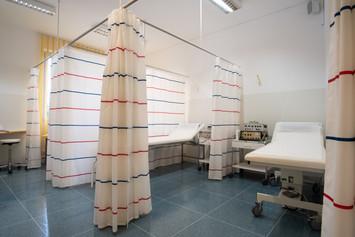 Therapieraum für Strombehandlungen