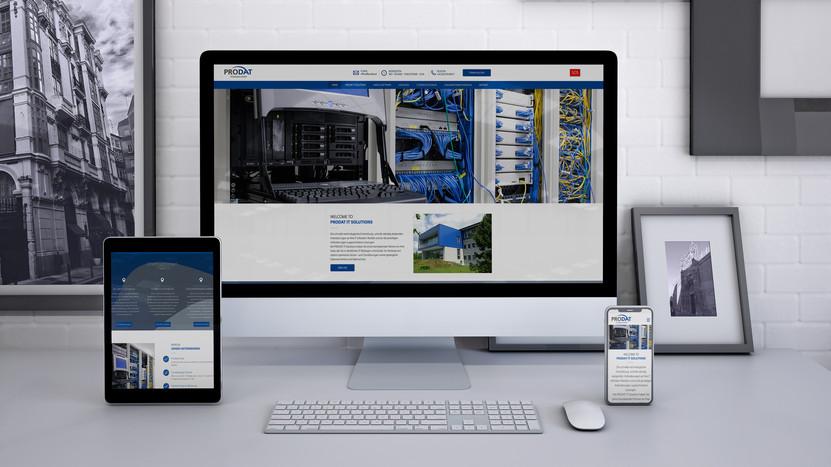 Prodat IT Solutions ∙ Website