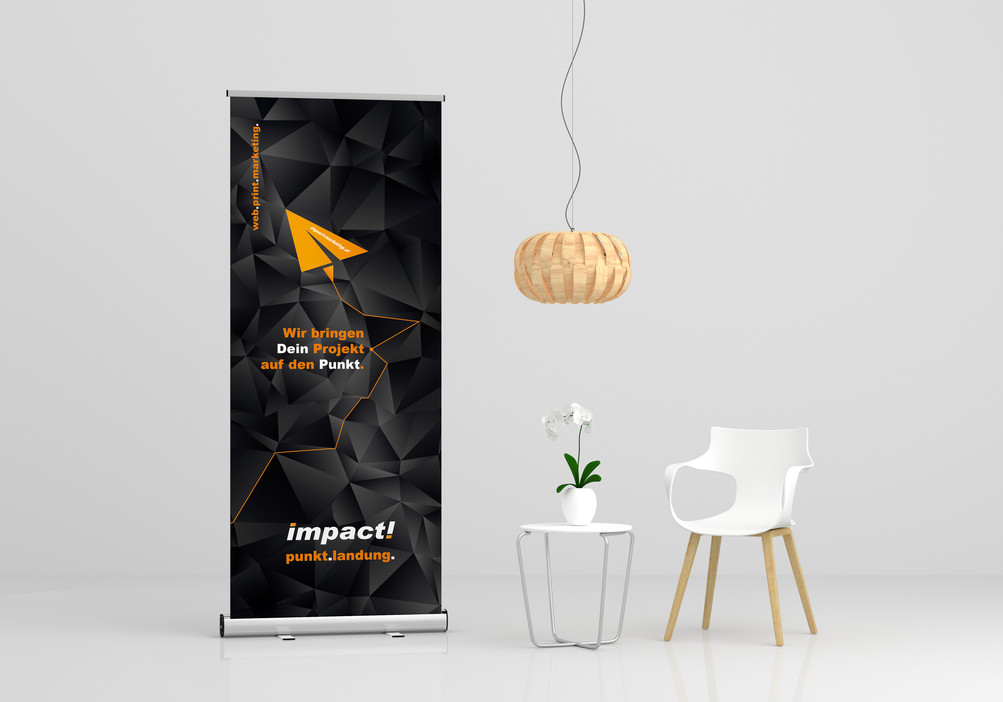 impact marketing ∙ Roll Up Design