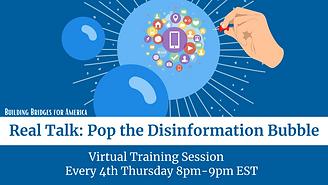 Pop the Disinformation Bubble