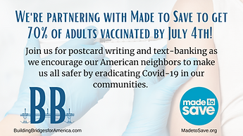 Copy of Join us for postcard writing and text-banking as we encourage our American neighbo