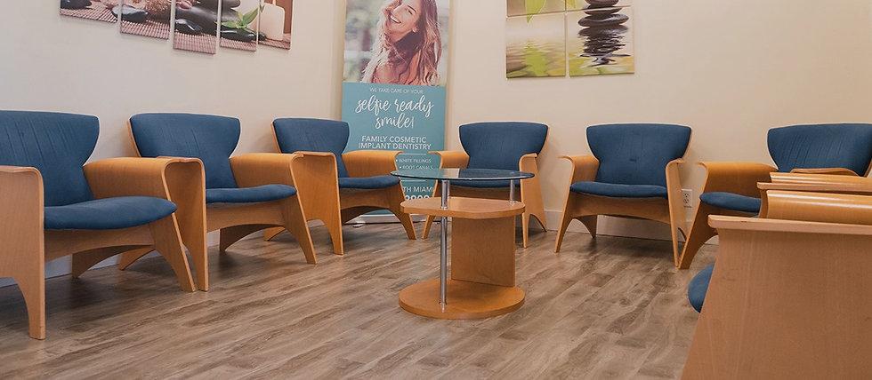 Gemini Dental Office Waiting Area