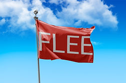 FLEE flag (Lénie Blue)