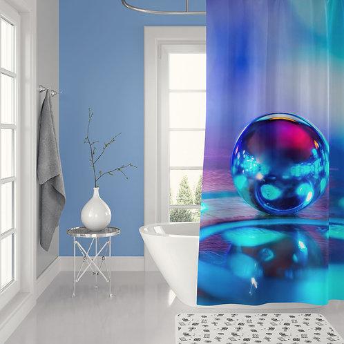 Pinball Shower Curtain