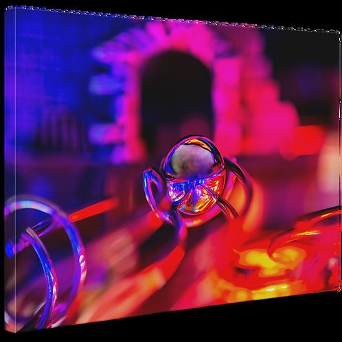 Pinball Art Canvas - Dracula