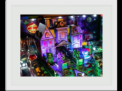 Pinball Art Print - House of Horrors