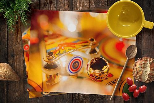 Pinball Placemats - Ball & Target