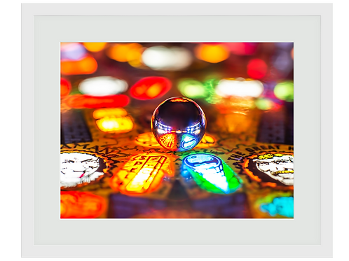 Pinball Art Print - Pinball Magic
