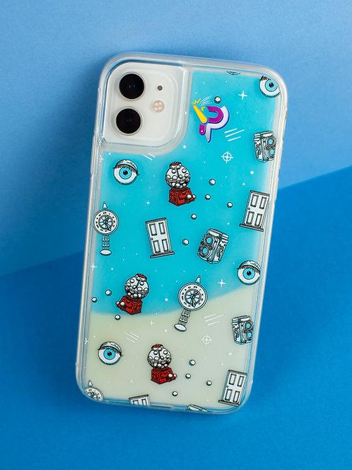 iPhone Case - Gumball Lava Blue