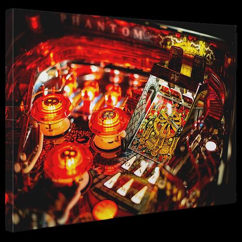Pinball Art Canvas - Phantom of the Opera