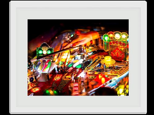 Pinball Art Print - Pinball Magic