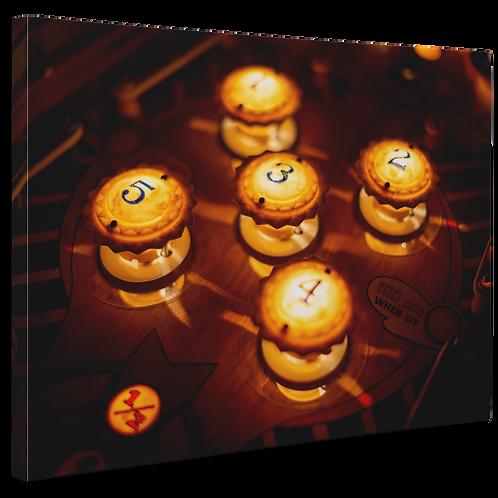 Pinball Art Canvas - Cyclone