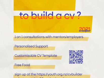 1-on-1 support: HYC's CV Builder