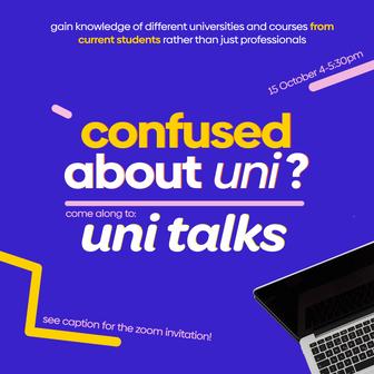HYC's Uni Talks: What's Uni Life Like?