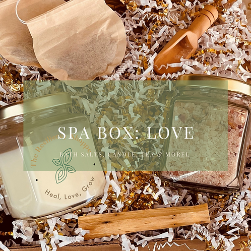 Spa Box: Love by The Resiliency Shoppe