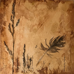 Feathers and Sea Grass
