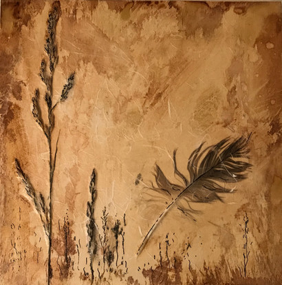 Feathers and Sea Grass click for details and price
