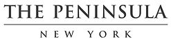 The Peninsula Hotel New York Black logo