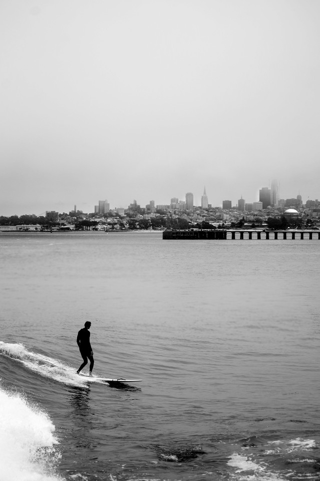 Surfin' San francisco