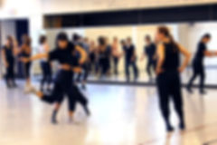 Anne Plamondon working with Ryerson School of Performance dance students