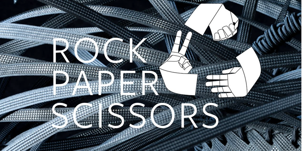 ROCK, PAPER, SCISSORS Art and objects produced with their making in mind