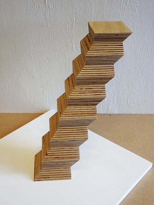 Leaning Endless Column