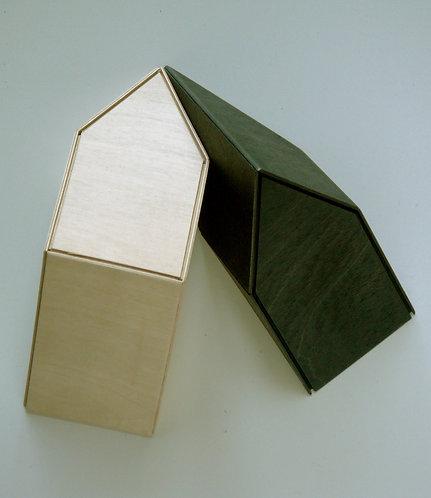 Two wall huts