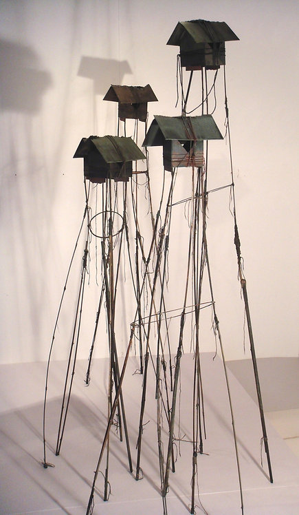 Tall huts