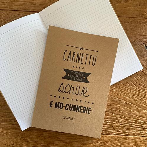 """Carnet de notes """"Cunnerie"""""""