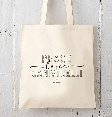 Tote bag Canistrelli / Coton bio épais