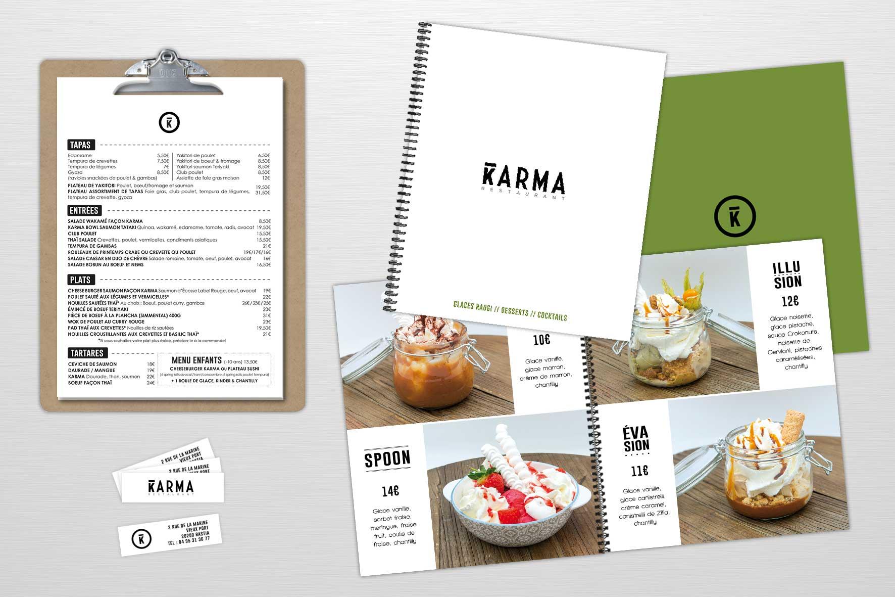 Restaurant Karma - bastia