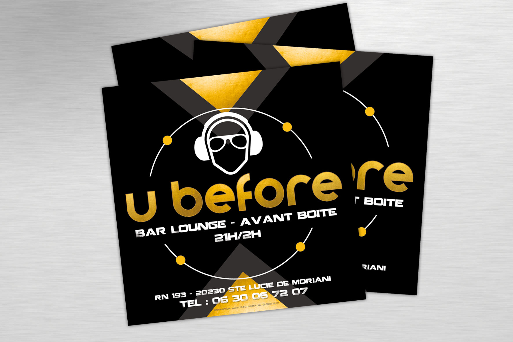 U before