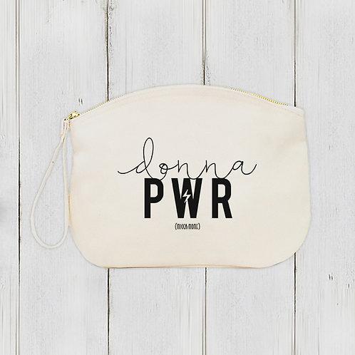 Pochette Donna PWR / Coton bio épais