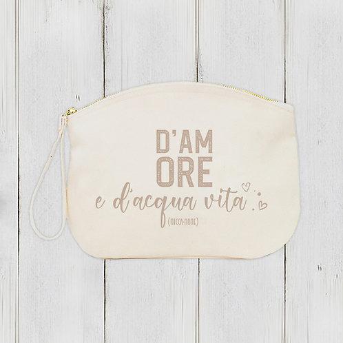 Pochette D'Amore / Coton bio épais