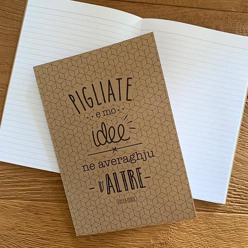 """Carnet de notes """"Idee"""""""