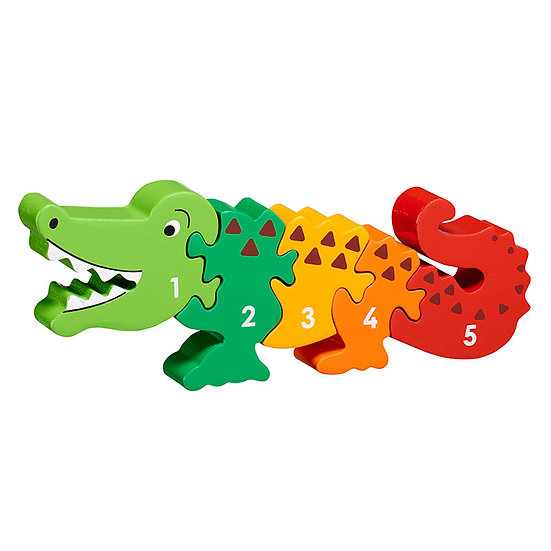 Crocodile 1-5 Puzzle by Lanka Kade