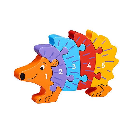 Hedgehog 1-5 Puzzle by Lanka Kade