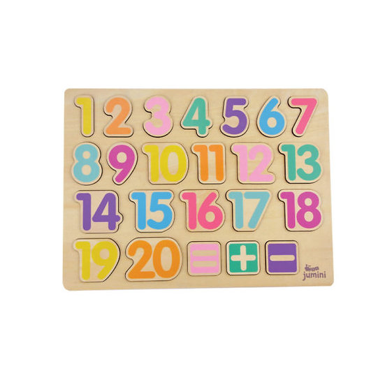 Wooden Number Puzzle by Jumini