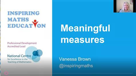Meaningful Measures in KS2