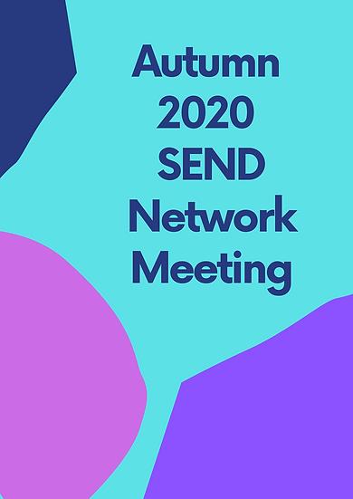 Autumn 2020 SEND Network Meeting